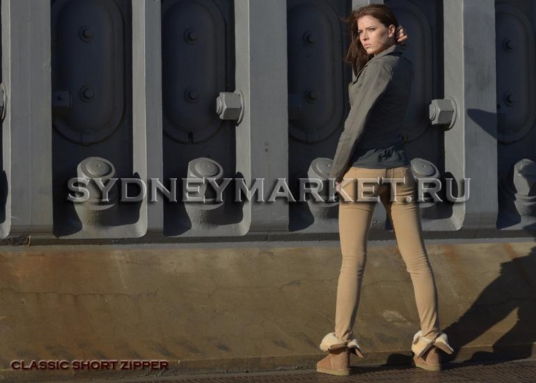 ���� AUSTRALIAN UGG ORIGINAL� Classic Short Zipper