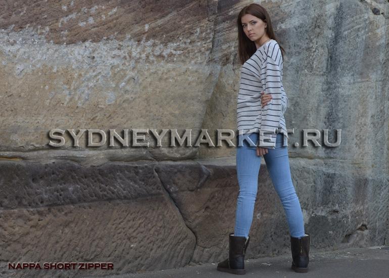 Угги AUSTRALIAN UGG ORIGINAL™ Nappa Short Zipper