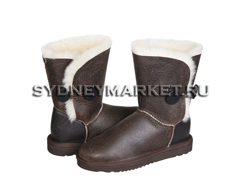 Угги AUSTRALIAN UGG ORIGINAL™ Nappa Button Short